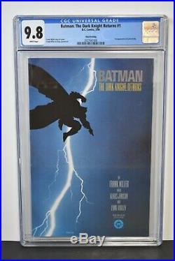 Batman The Dark Knight Returns #1 (1986) CGC Graded 9.8 Frank Miller 3rd Print