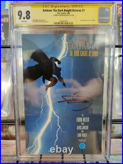 Batman The Dark Knight Returns #1 (1986) Cgc Grade 9.8 Frank Miller Signed