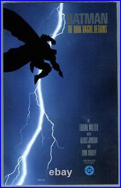 Batman The Dark Knight Returns #1 (1986) DC CGC 9.6 White 1st Carrie Kelly
