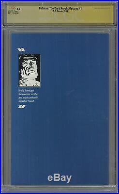 Batman The Dark Knight Returns #1-1ST 1986 CGC 9.6 SS 1612918011