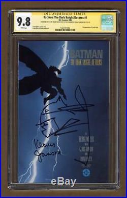 Batman The Dark Knight Returns #1-1ST 1986 CGC 9.8 SS 1323191006