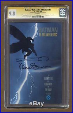 Batman The Dark Knight Returns #1-1ST 1986 CGC 9.8 SS 1325907005