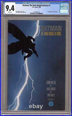 Batman The Dark Knight Returns #1-1ST CGC 9.4 1986 0137959018