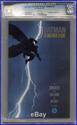 Batman The Dark Knight Returns #1-1ST CGC 9.8 1986 0261645005
