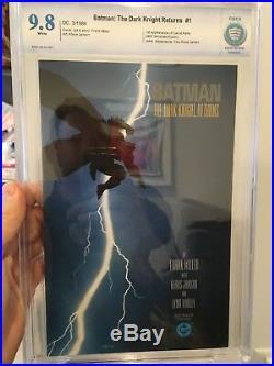 Batman The Dark Knight Returns #1 (1st Print) CBCS 9.8 WP (1st Carrie Kelly) CGC