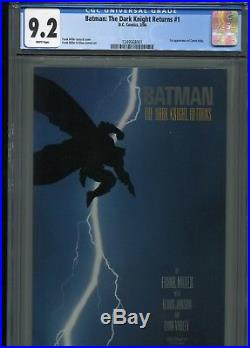 Batman The Dark Knight Returns #1 (1st Print) CGC 9.2 WP (1st Carrie Kelly)