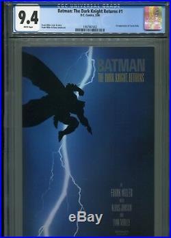 Batman The Dark Knight Returns #1 (1st Print) CGC 9.4 WP (1st Carrie Kelly)