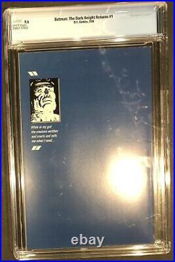 Batman The Dark Knight Returns #1 1st Print CGC 9.6 (1986, DC)