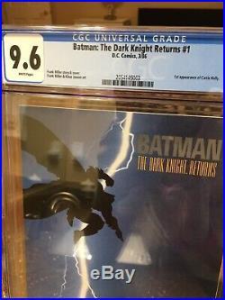 Batman The Dark Knight Returns #1 1st Print CGC 9.6 Frank Miller