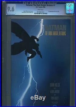 Batman The Dark Knight Returns #1 (1st Print) CGC 9.6 WP (1st Carrie Kelly)