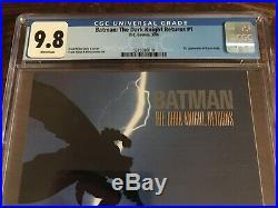 Batman The Dark Knight Returns #1 (1st Print) CGC 9.8 WP (1st Carrie Kelly)