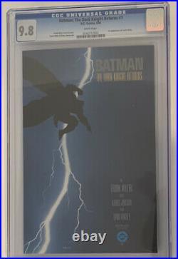 Batman The Dark Knight Returns #1 (1st Print) CGC Nm/M 9.8 White Pages