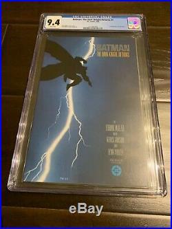 Batman The Dark Knight Returns #1 1st Print DC 1986 CGC 9.4 NM WP Comic E0039