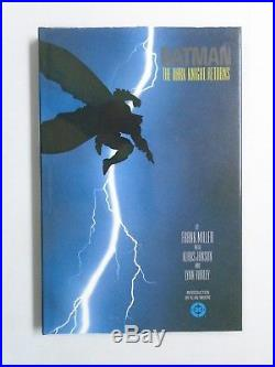 Batman The Dark Knight Returns #1 1st Print hardcover 8.0 no cellphone 1986