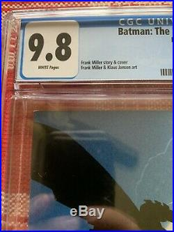 Batman The Dark Knight Returns #1 1st print CGC 9.8 1st Carrie Kelly NM/M