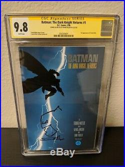 Batman The Dark Knight Returns #1 1st print CGC 9.8 signed sketch Frank Miller