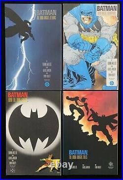 Batman The Dark Knight Returns #1 2 3 4 (1986) Frank Miller High Grade Set