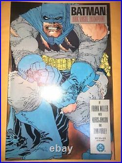 Batman The Dark Knight Returns 1, 2, 3, 4 1st prints Frank Miller, High Grade