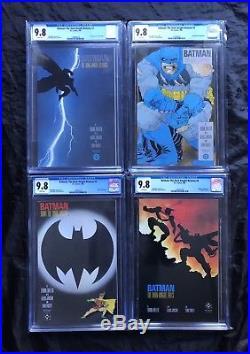 Batman The Dark Knight Returns # 1 2 3 4 All Cgc 9.8 Set White Pages 1st Prints