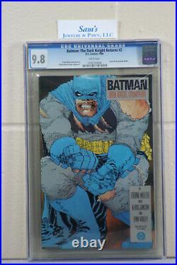 Batman The Dark Knight Returns #1, 2, 3, 4 CGC 9.8 White Pages (1st Print Set)