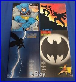 Batman The Dark Knight Returns #1 2 3 4 Complete First Prints DC 1986