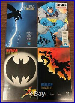 Batman The Dark Knight Returns #1 2 3 4 First Prints DC Comics 1986