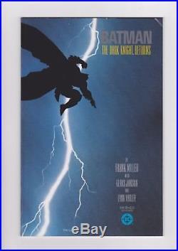 Batman The Dark Knight Returns #1-4, 1986, complete set full run 1st printings
