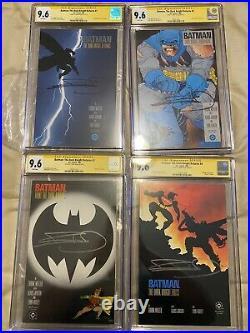 Batman The Dark Knight Returns #1-4 CGC 9.6 Signed By Frank Miller