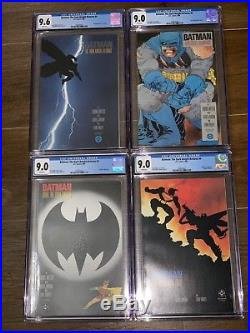 Batman The Dark Knight Returns 1-4 CGC GRADED 9.6 NEAR MINT+ WHITE PAGES DC