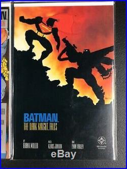 Batman The Dark Knight Returns #1-4 Complete Set (1986)
