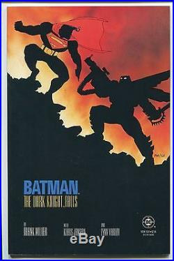 Batman The Dark Knight Returns #1-4 Complete Set Frank Miller Dc/1986