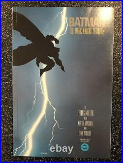 Batman The Dark Knight Returns 1-4 Frank Miller Beautiful Set! High Grade NM+