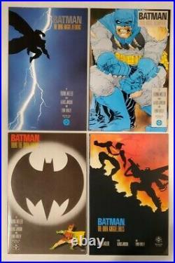 Batman The Dark Knight Returns #1-4 (dc 1986) All 1st Prints Nm