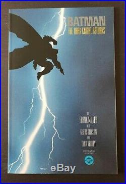 Batman The Dark Knight Returns #1-4 (dc, 1986) Complete Set Of 1st Prints! Nm
