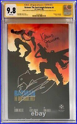 Batman The Dark Knight Returns 1-4 set SS and Sketch CGC 9.8 1 2 3 4