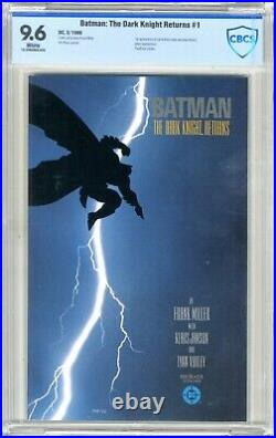 Batman The Dark Knight Returns #1 CBCS 9.6 NM+ White pgs 3/86 1st App. Carr