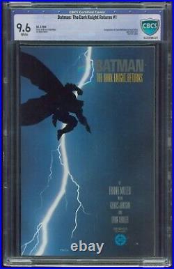 Batman The Dark Knight Returns 1 CBCS-GRADED 9.6 NM+ WP DC 1ST PRINT ID G-536