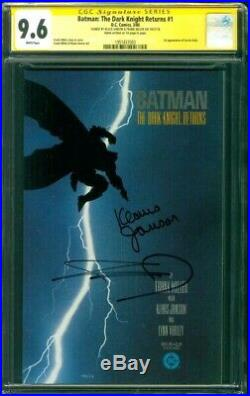 Batman The Dark Knight Returns 1 CGC 2X SS 9.6 Frank Miller Janson 1st Pr 1986