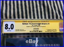 Batman The Dark Knight Returns 1 CGC 8.0 SS Miller Janson Rare Fourth Printing