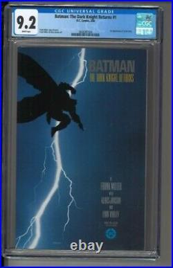Batman The Dark Knight Returns #1 CGC 9.2 1st Appearance of Carrie Kelly