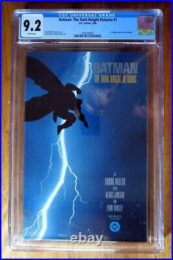 Batman The Dark Knight Returns #1 CGC 9.2 Frank Miller 1st Carrie Kelly