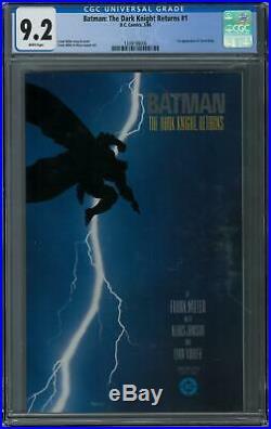 Batman The Dark Knight Returns #1 CGC 9.2 (W) 1st Appearance of Carrie Kelly