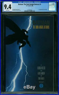 Batman The Dark Knight Returns #1 CGC 9.4 DC 1986 Frank Miller! K4 142 cm