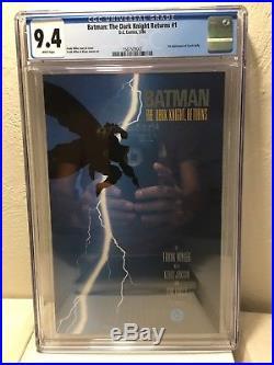 Batman The Dark Knight Returns #1 CGC 9.4 Frank Miller High Grade