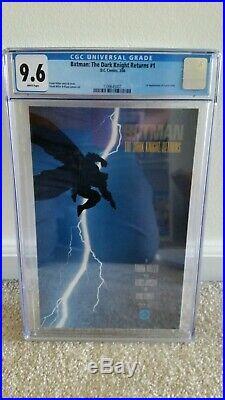 Batman The Dark Knight Returns #1 CGC 9.6 1st Print / App Carrie Kelly DC 1986