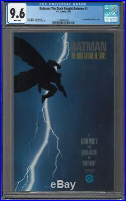 Batman The Dark Knight Returns #1 CGC 9.6 1st Print White Pages Frank Miller