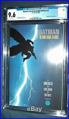 Batman The Dark Knight Returns #1 CGC 9.6 DC Comics
