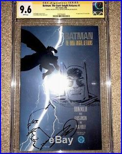 Batman The Dark Knight Returns #1 CGC 9.6 SS 2x. Frank Miller/Klaus Sketch