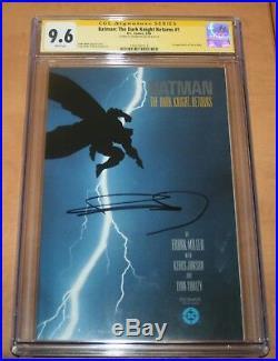 Batman The Dark Knight Returns #1! CGC 9.6 SS Frank Miller! 1st Carrie Kelly