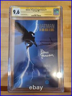 Batman The Dark Knight Returns #1 CGC 9.6 Signed by Frank Miller Klaus Janson